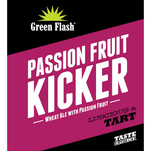 f36567416d6 Passion Fruit Kicker | American Pale Wheat Ale | Green Flash Brewing ...