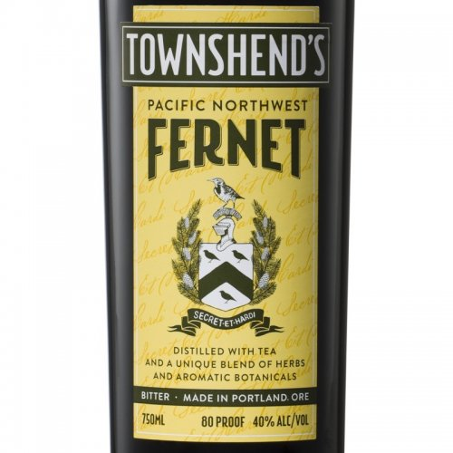 Townshend's Pacific Northwest Fernet - Thomas & Sons Distillery