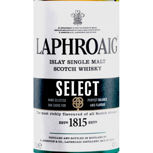 Laphroaig Select Single Malt Scotch Whiskey