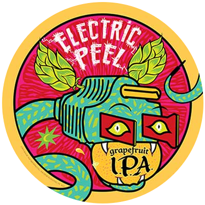 Electric Peel Grapefruit IPA - Magic Hat Brewing Company
