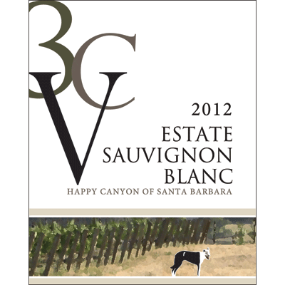 2012 3CV Sauvignon Blanc Happy Canyon of Santa Barbara