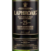 Laphroaig 25 Year Old Single Malt Scotch Whiskey