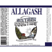 Sixteen Counties Ale - Allagash Brewing Compeny